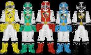 Divine Knight Rangers
