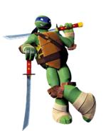 Leonardo (TMNT) as Soto
