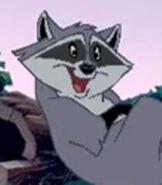 Meeko in Pocahontas Animated StoryBook