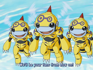 Honeybeemon Trio Fly.