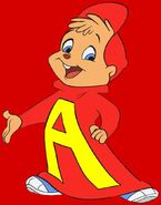 Alvin Seville (from Alvin & The Chipmunks) as Chuckie Finster