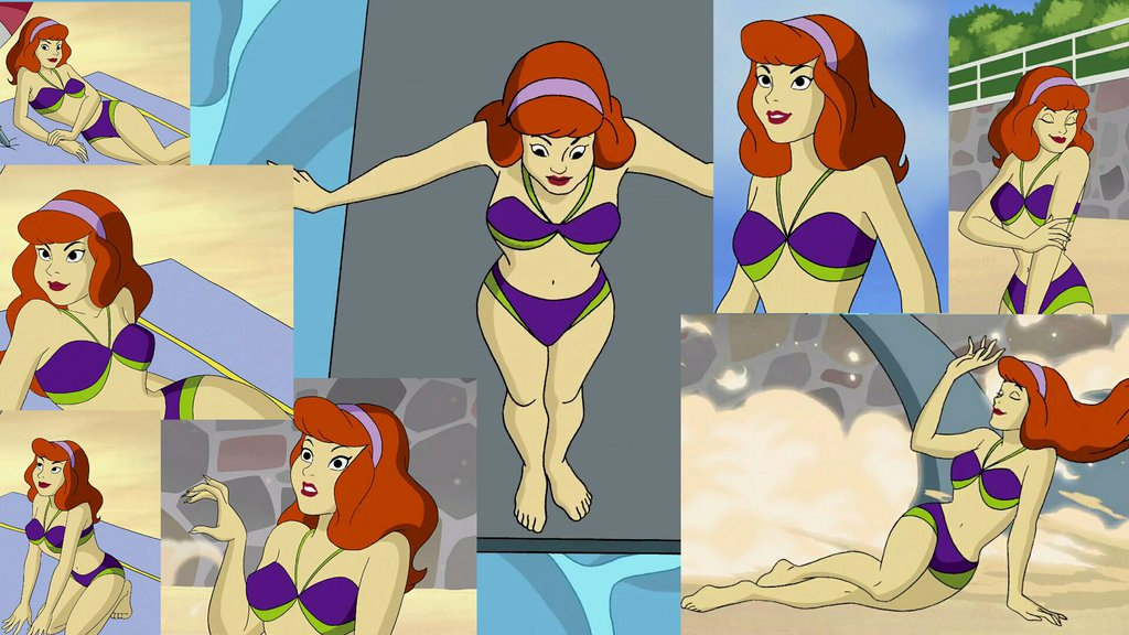 Daphne bikini scooby doo