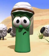 Junior Asparagus in VeggieTales