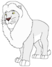 Leo the White Transvaal Lion