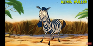 Timon and Pumbaa Zebra