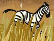Zebra in hugo lek och lar 5 savannens hjaltar