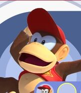 Diddy Kong in Mario and Sonic at the Olympic Games Tokyo 2020