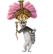 King Julien (Dreamworks)