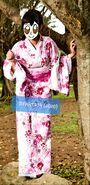 2020 RFART419 Kimono Girl frame