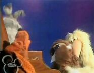 All of the Muppet dogs weep through the song Man's Best Friend (Old Dog Trey)