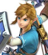 Link in Super Smash Bros Ultimate