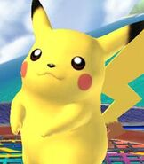 Pikachu in Super Smash Bros. Brawl