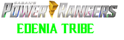 Power Rangers Edenia Tribe title (logo)