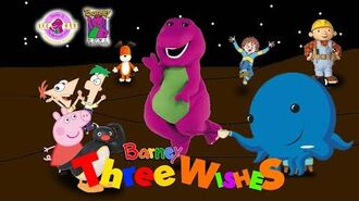 Barney & The Backyard Gang Crossover Series Three Wishes The Crossover