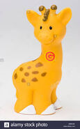Fisher Price Little People Reticulated Giraffe