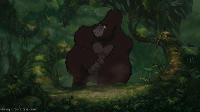 Kerchak the parody wiki fandom powered by wikia - Tarzan gorille ...