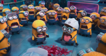 Minions Screaming at the Jelly