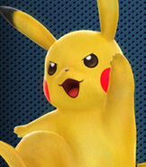 Pikachu in Pokkén Tournament