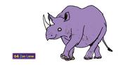 Ronald the Black Rhinoceros