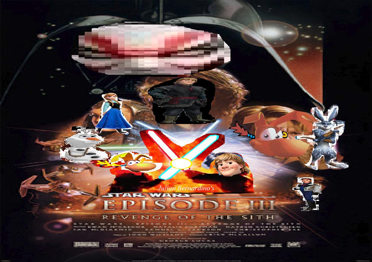 Star Wars Episode 3 Revenge Of The Sith Julian14bernardino Style