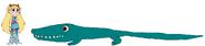 Star meets Deinosuchus