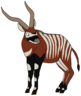 Billy the Bongo Antelope