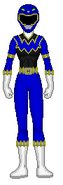 Blue Space Jungle Ranger