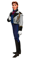 Hans transparent