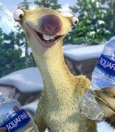 Sid in the Aquafina Commercial