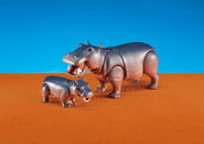 Hippopotamus playmobil