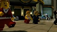 Peoples running in Lego City Undercover