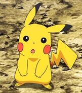 Pikachu in Pokemon the Movie Volcanion and the Mechanical Marvel