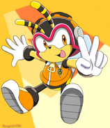 Charmy bee by aamypink