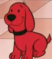Clifford in Clifford's Puppy Days