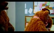 Fozzie Bear crying in The Muppets(2015) Walk the Swine