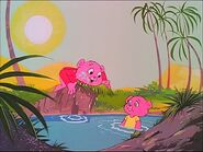 Pinky and panky in the pond