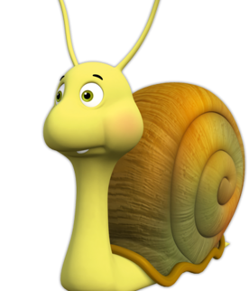 Shelby the Snail (Maya the Bee)