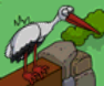 Simpsons Tapped Out Stork