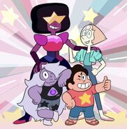 Steven Universe and the Crystal Gems