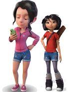 Amy Gonzalez and Yi