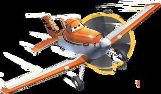 Dusty crophopper planes