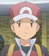 Red in Pokemon Origins