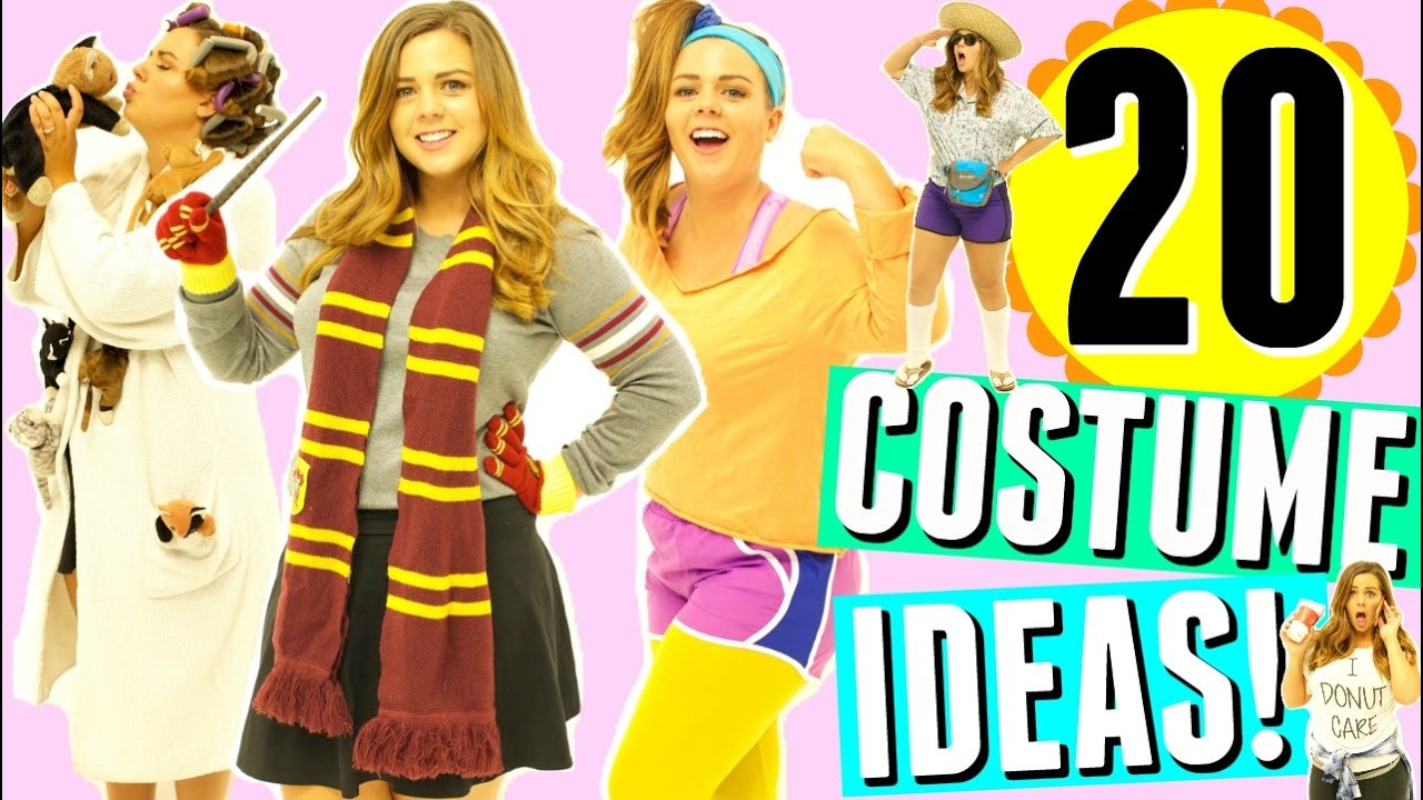20 LAST MINUTE DIY HALLOWEEN COSTUMES! Last Minute Halloween Costume Ideas for Girls 2016! - YouTube.jpg  sc 1 st  The Parody Wiki - Fandom & Image - 20 LAST MINUTE DIY HALLOWEEN COSTUMES! Last Minute Halloween ...