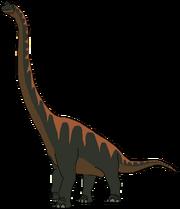 Arvel the Brachiosaurus