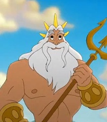 King Triton in The Little Mermaid 2 Return to the Sea