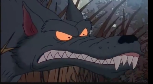 Scar Snout The Wolf Rugrats Movie