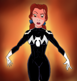 Belle acquiring the symbiote