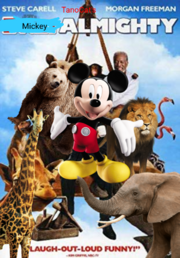 Mickey Almighty- Poster