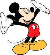 Mickey Mouse as Mike Brady