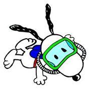 Snoopy Scuba Diver